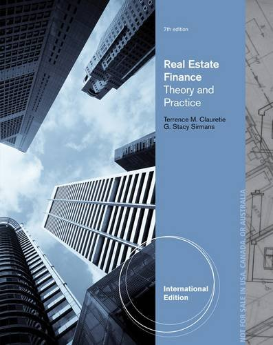 9781285181578: Real Estate Finance: Theory & Practice