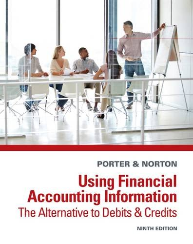 Using Financial Accounting Information: The Alternative to Debits and Credits: Porter, Gary A.; ...