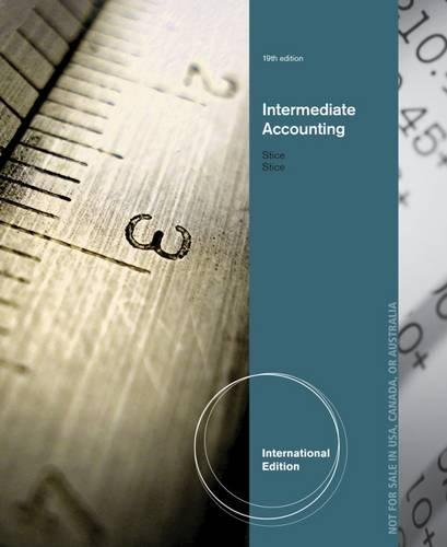9781285183343: Intermediate Accounting