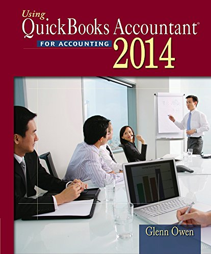 9781285183428: Using Quickbooks Accountant 2014 (with CD-ROM)