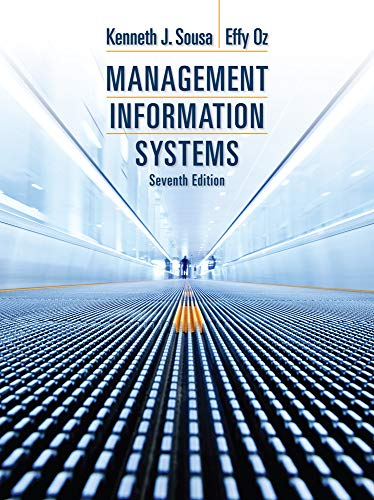 9781285186139: Management Information Systems