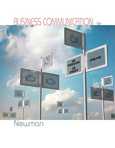 9781285187044: Business Communication: In Person, In Print, Online