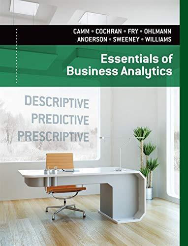 9781285187273: Essentials of Business Analytics
