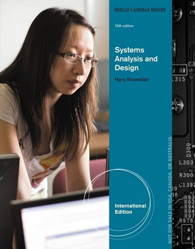9781285192482: Systems Analysis and Design (Shelly Cashman)