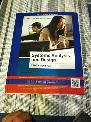 9781285192499: Systems Analysis and Design Tenth Edition (Instructor's Edition)