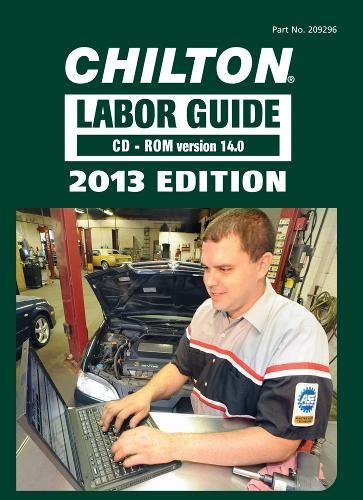 9781285192963: Chilton Labor Guide CD-ROM for Domestic and Imported Vehicles, 2013