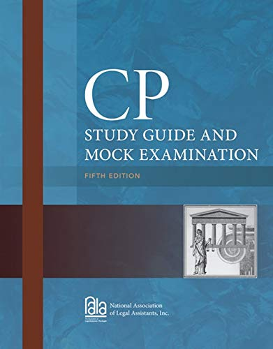 9781285193243: CP Study Guide and Mock Examination