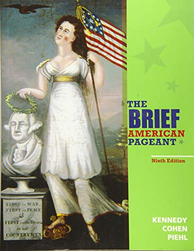 9781285193298: The Brief American Pageant: A History of the Republic