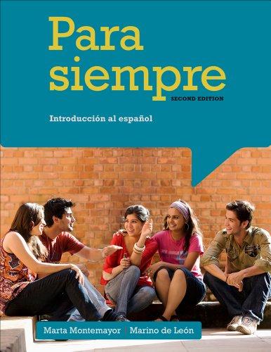 Cengage Advantage: Para siempre: Introduccion al espanol: de Leon, Marino;
