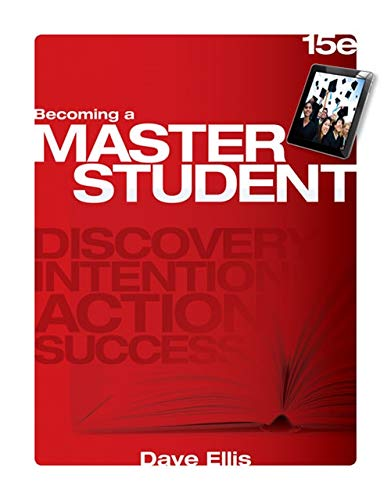 9781285193892: Becoming a Master Student (Textbook-specific CSFI)