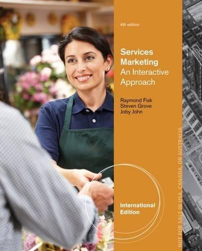 9781285193908: Services Marketing. Raymond P. Fisk