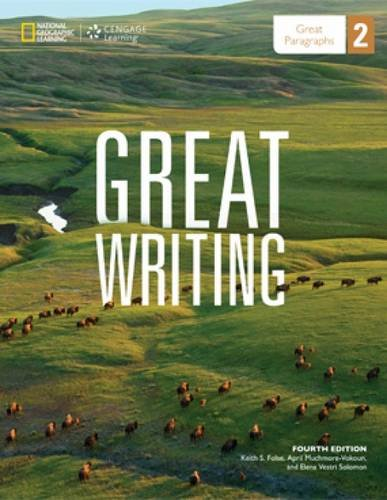 9781285194905: Great Writing 2: Great Paragraphs (Great Writing, New Edition)