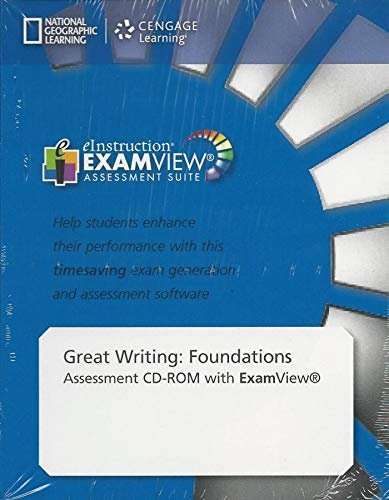 9781285194998: Great Writing Foundations: Assessment CD-ROM with ExamView