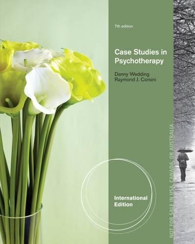 9781285196220: Case Studies in Psychotherapy, International Edition