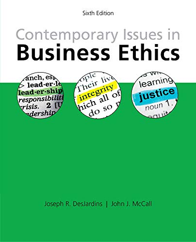 9781285197401: Contemporary Issues in Business Ethics