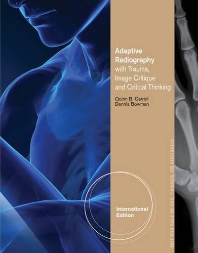 9781285197838: Adaptive Radiography with Trauma, Image Critique and Critical Thinking