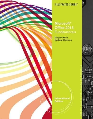 9781285197845: Microsoft Office 2013: Illustrated Fundamentals