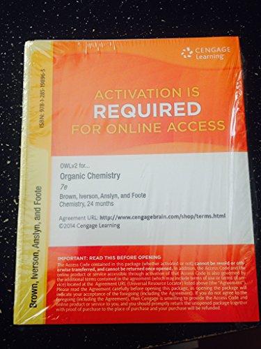 9781285198965: ORGANIC CHEM.:OWL V2 ACCESS-LEVEL 2