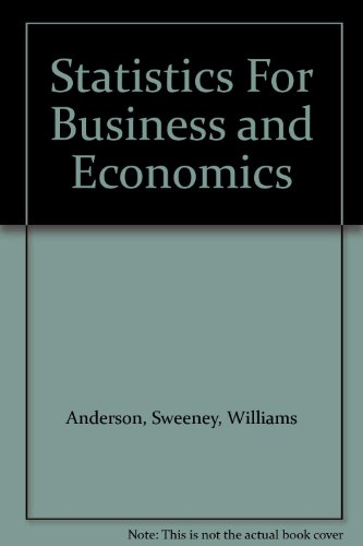 9781285215341: Statistics For Business and Economics