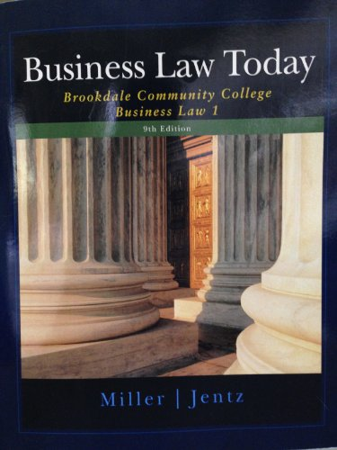9781285221908: Business Law Today