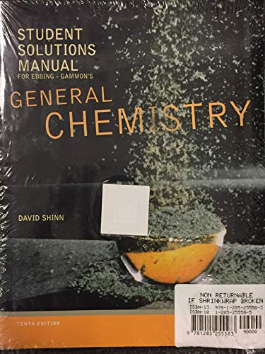 9781285255583: Bundle: General Chemistry, 10th + Student Solutions Manual
