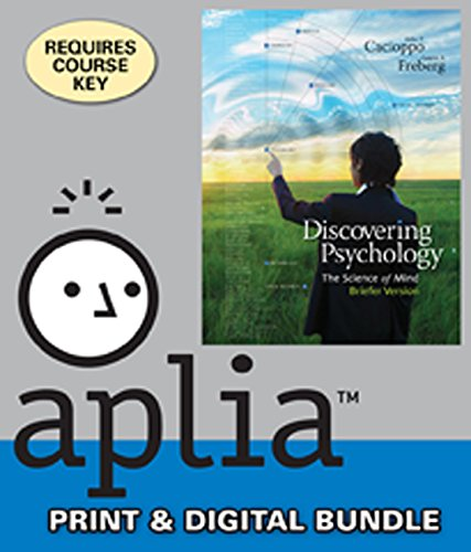 9781285257990: Bundle: Discovering Psychology: The Science of Mind, Briefer Version + Aplia™, 1 term Printed Access Card