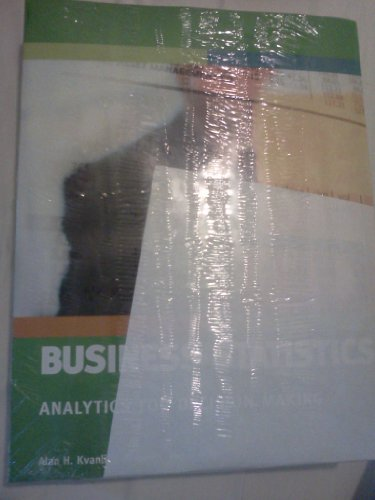 9781285259765: Business Statistics: Analytics for Decision Making