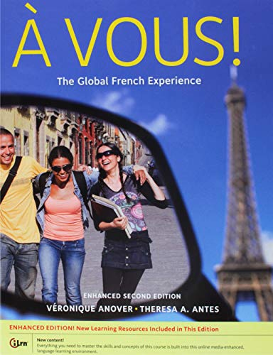 9781285327143: Bundle: À Vous!: The Global French Experience, Enhanced, 2nd + iLrn™ 3-Semester Printed Access Card