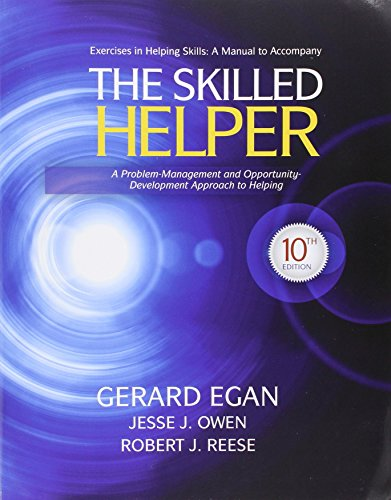 9781285330679: Bundle: The Skilled Helper: A Problem-Management and Opportunity-Development Approach to Helping, 10th + Student Workbook Exercises