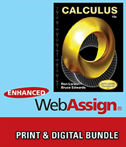 9781285338231: Bundle: Calculus, 10th + WebAssign Printed Access Card for Larson/Edwards' Calculus, 10th Edition, Multi-Term