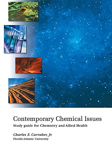 9781285386225: Contemporary Chemical Issues: Study Guide