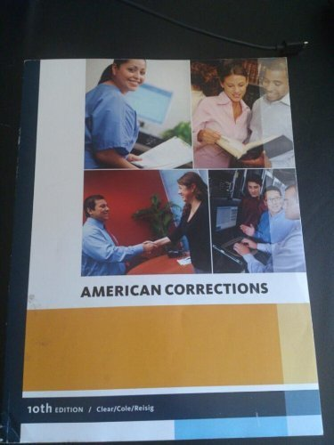 9781285389523: American Corrections