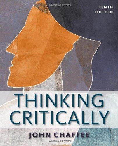 9781285389899: Thinking Critically