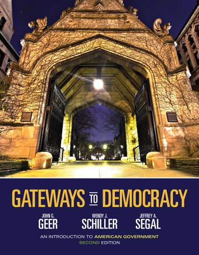 9781285417813: Gateways to Democracy: An Introduction to American Government (Book Only)