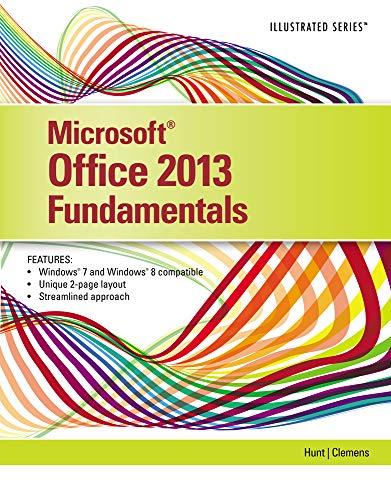 9781285418292: Microsoft Office 2013: Illustrated Fundamentals