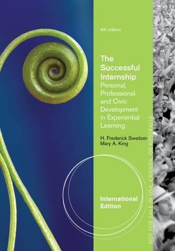 9781285418780: The Successful Internship