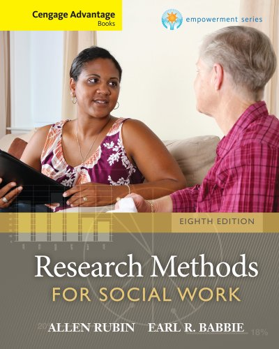 9781285419077: Cengage Advantage Books: Brooks/Cole Empowerment Series: Research Methods for Social Work