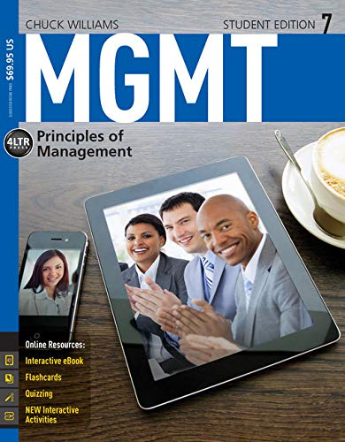 MGMT 7 (New, Engaging Titles from 4LTR: Williams, Chuck