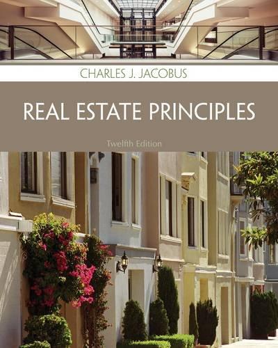 Real Estate Principles: Jacobus