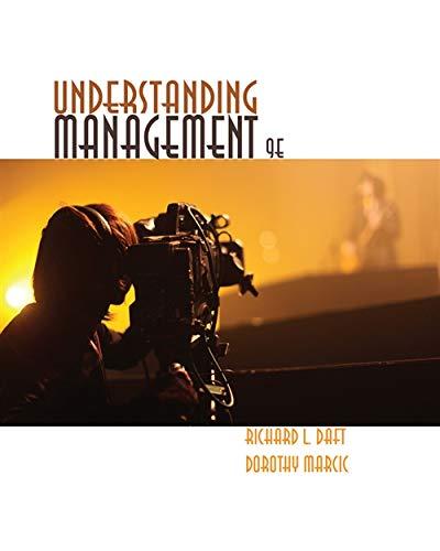 9781285421230: Understanding Management