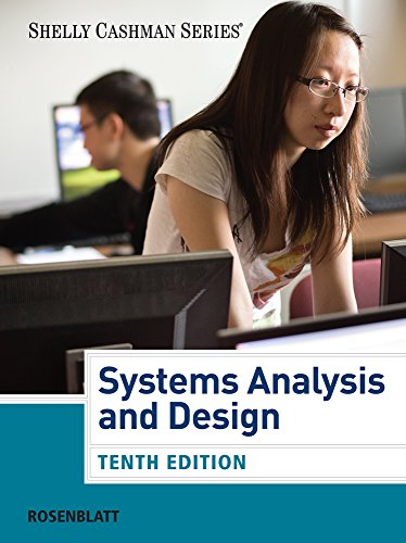 Systems Analysis and Design (Book Only) (Shelly: Harry J. Rosenblatt