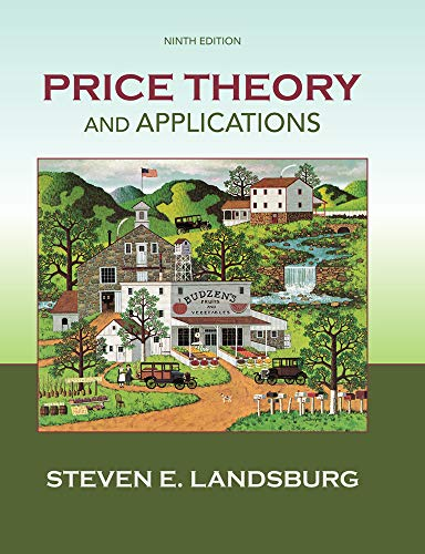 9781285423524: Price Theory and Applications (Upper Level Economics Titles)