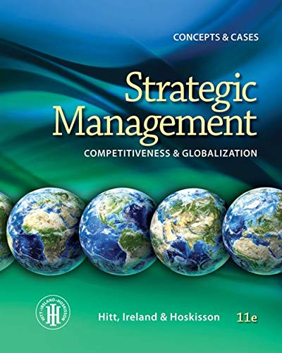 Strategic Management: Concepts and Cases: Competitiveness and: Hitt, Michael A.,
