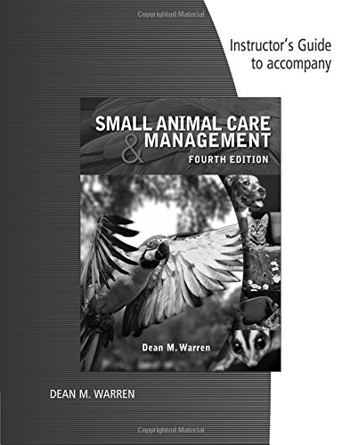 9781285425535: Im Small Animal Care Mgmt