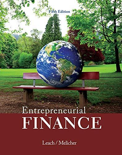9781285425757: Entrepreneurial Finance
