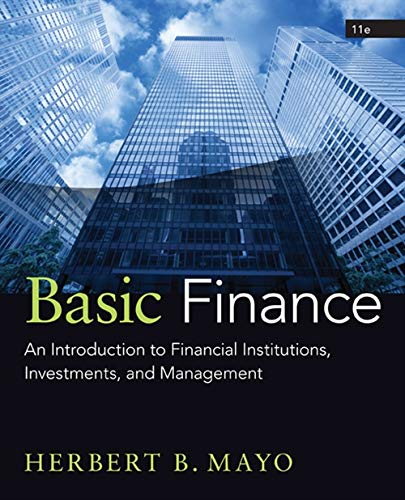 9781285425795: Basic Finance: An Introduction to Financial Institutions, Investments, and Management