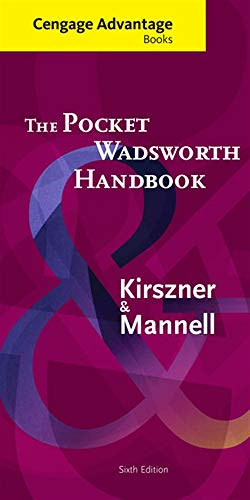 9781285426617: Cengage Advantage Books: The Pocket Wadsworth Handbook