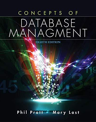 Concepts of Database Management: Pratt, Philip J.,