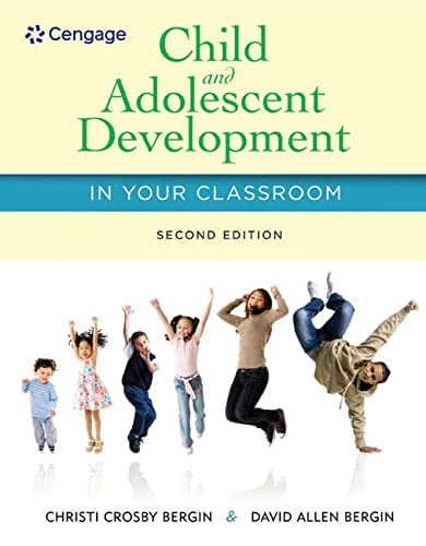 9781285427348: Child and Adolescent Development in Your Classroom