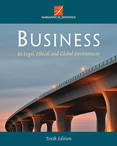 9781285428260: Business: Its Legal, Ethical, and Global Environment